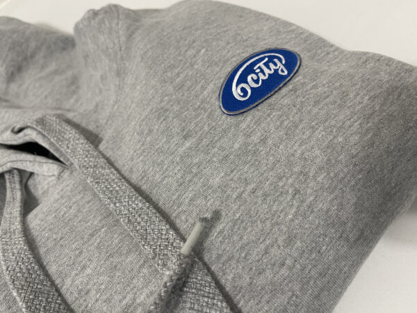Hoodie Logo Close-up