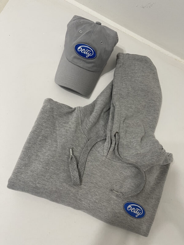 Hat and Hoodie Close-Up